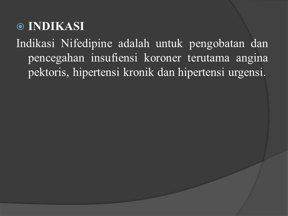 INDIKASI