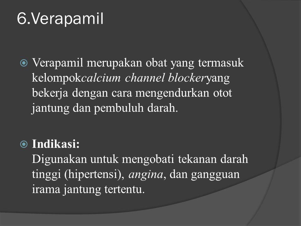 6.Verapamil