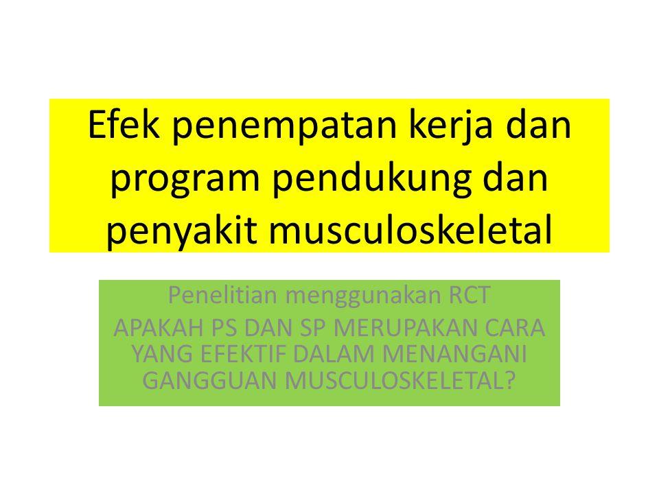 Penelitian menggunakan RCT