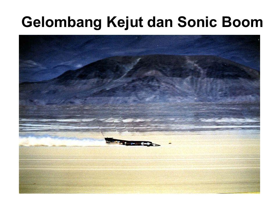 Gelombang Kejut dan Sonic Boom