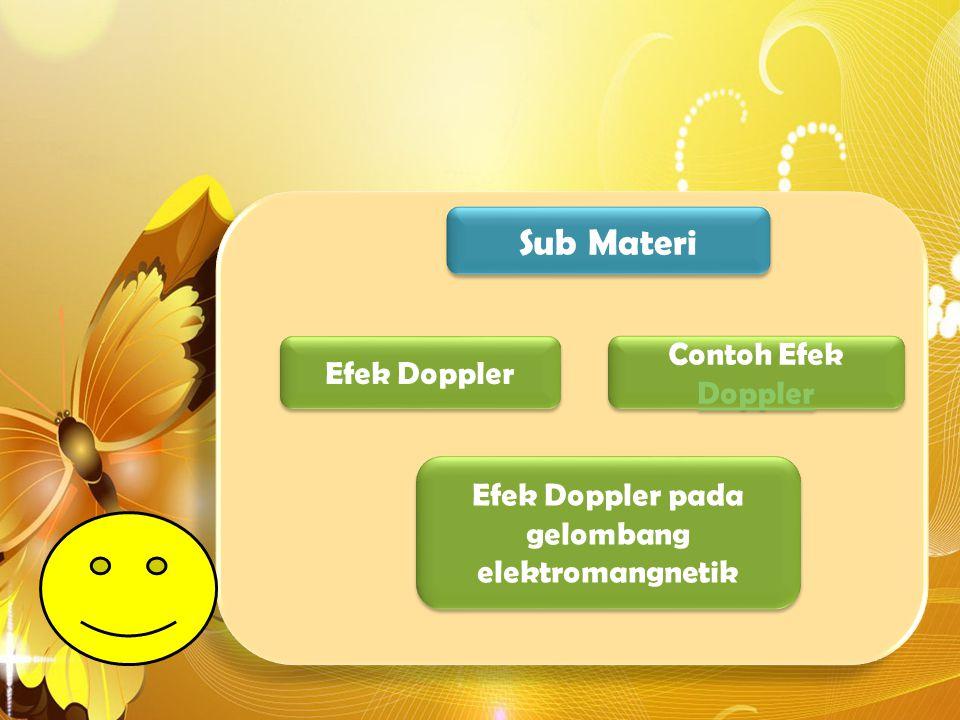 Efek Doppler pada gelombang elektromangnetik