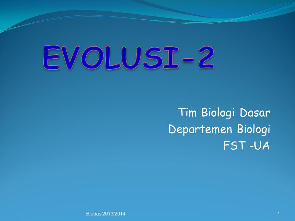 Tim Biologi Dasar Departemen Biologi FST -UA