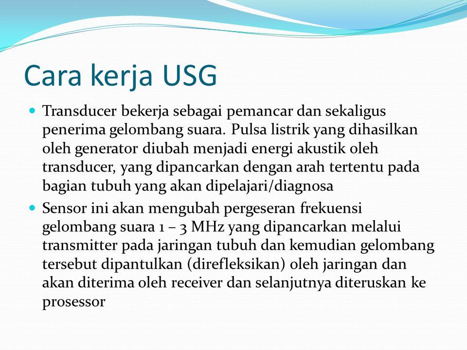 Cara kerja USG