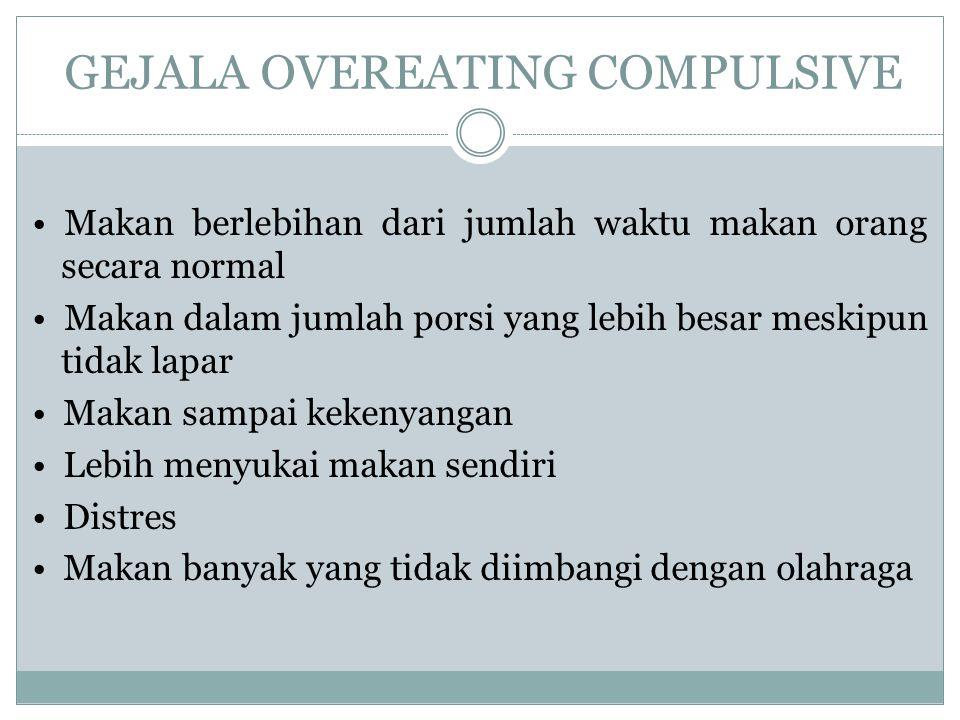 GEJALA OVEREATING COMPULSIVE