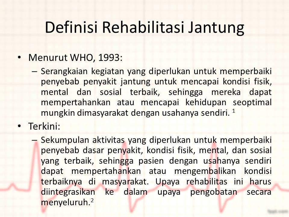Definisi Rehabilitasi Jantung