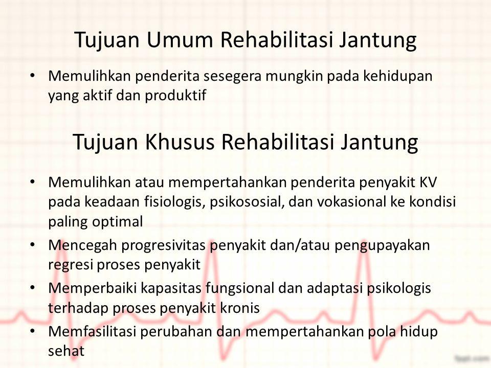 Tujuan Umum Rehabilitasi Jantung