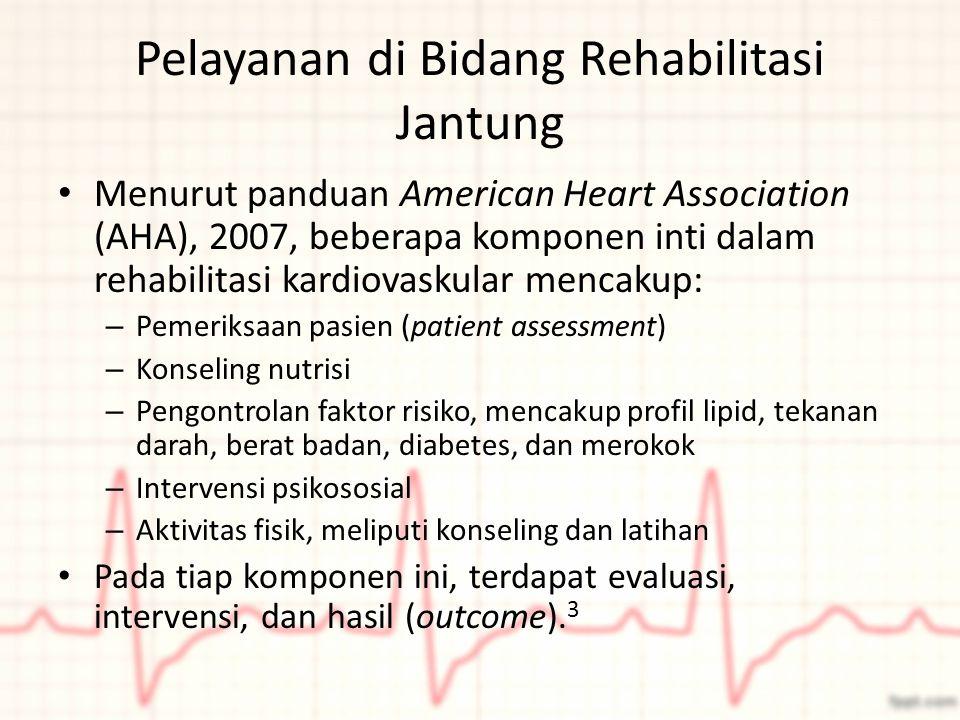 Pelayanan di Bidang Rehabilitasi Jantung