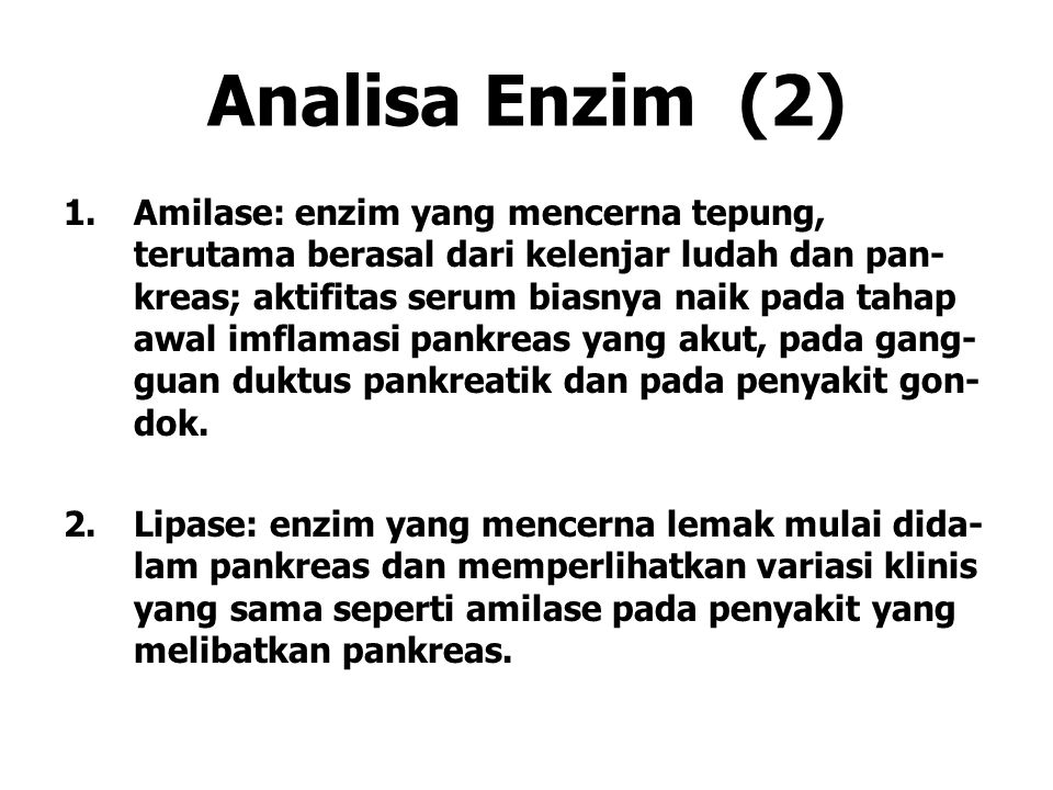 Analisa Enzim (2)