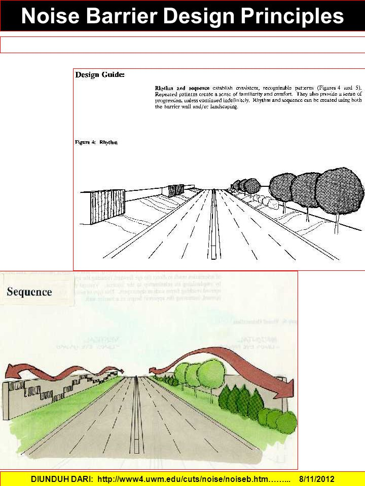 Noise Barrier Design Principles