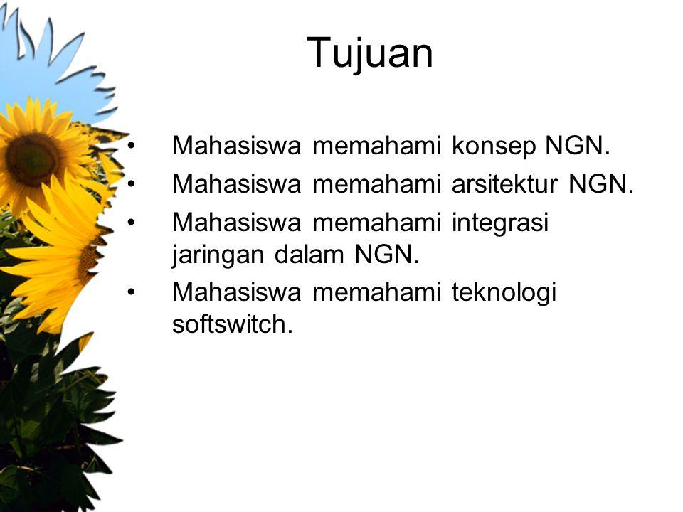 Tujuan Mahasiswa memahami konsep NGN.