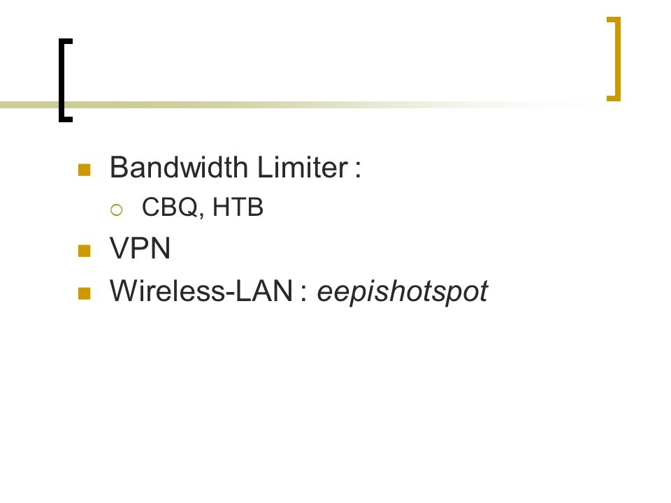 Wireless-LAN : eepishotspot