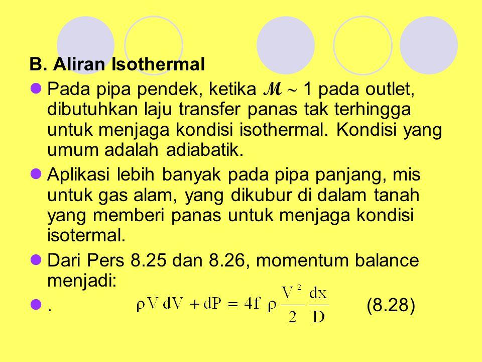 B. Aliran Isothermal