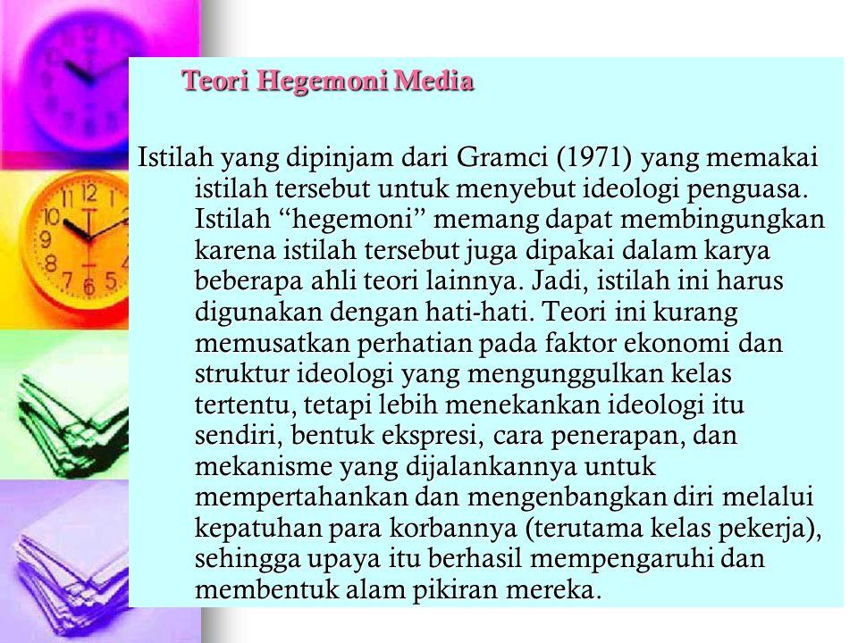 Teori Hegemoni Media