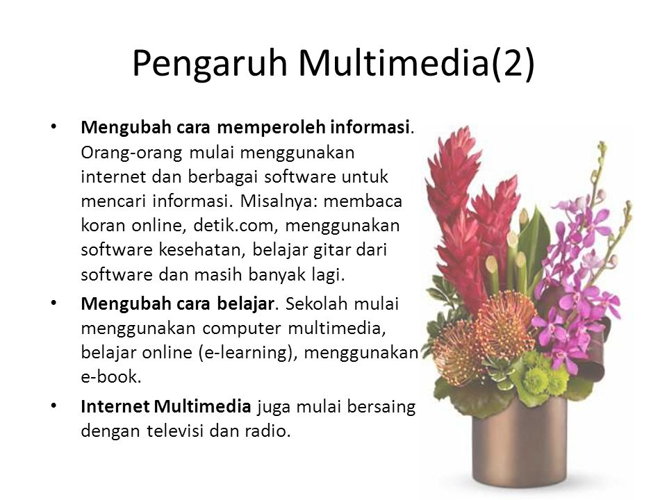 Pengaruh Multimedia(2)