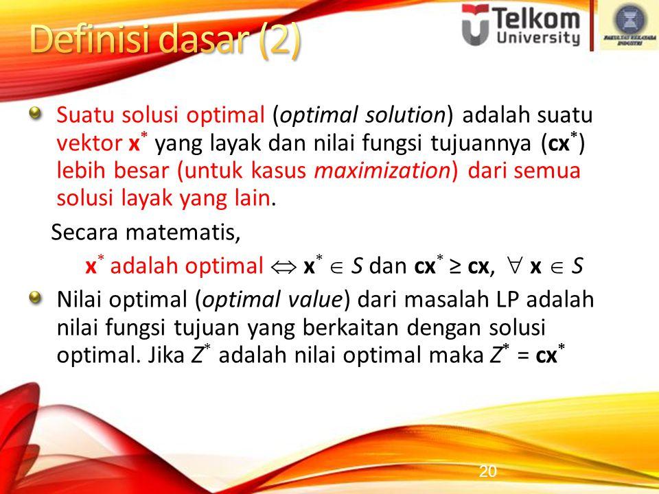 Definisi dasar (2)