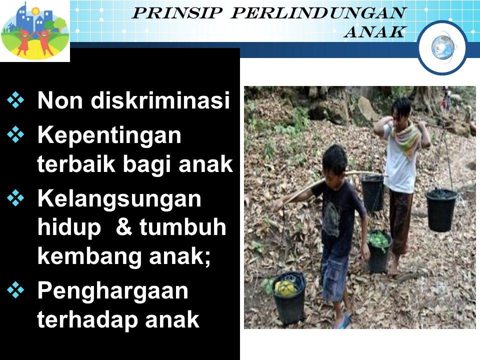 Prinsip perlindungan anak