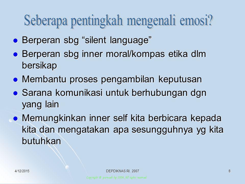 Seberapa pentingkah mengenali emosi