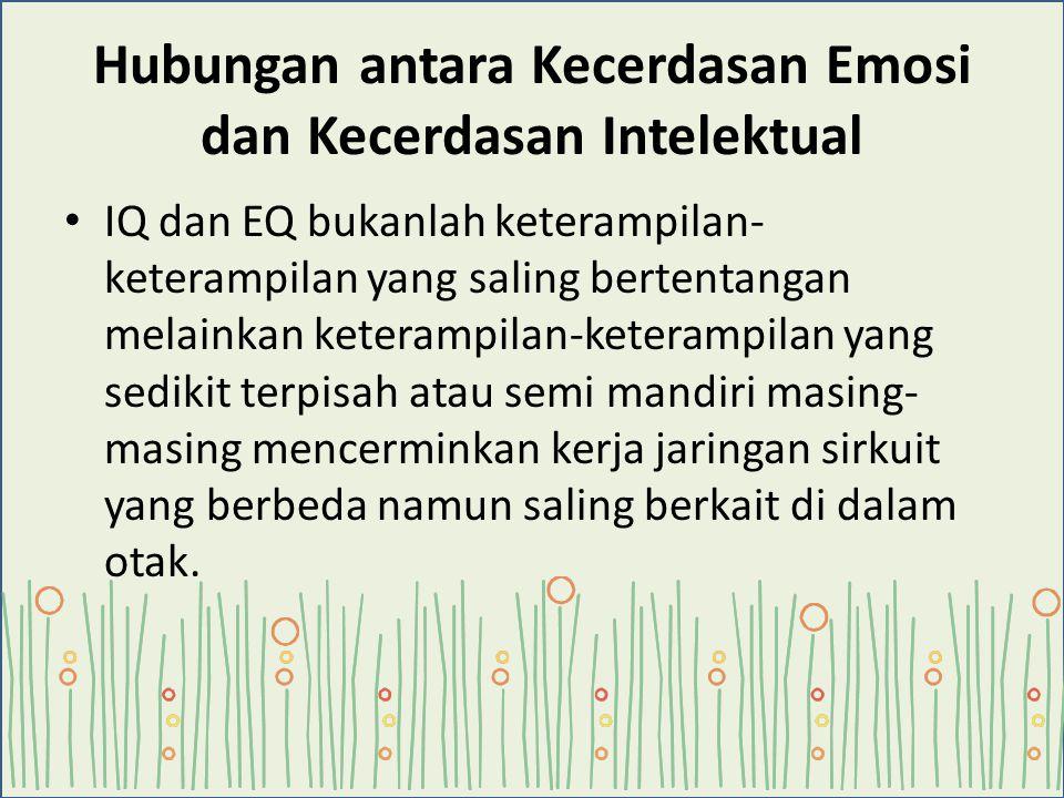 Hubungan antara Kecerdasan Emosi dan Kecerdasan Intelektual