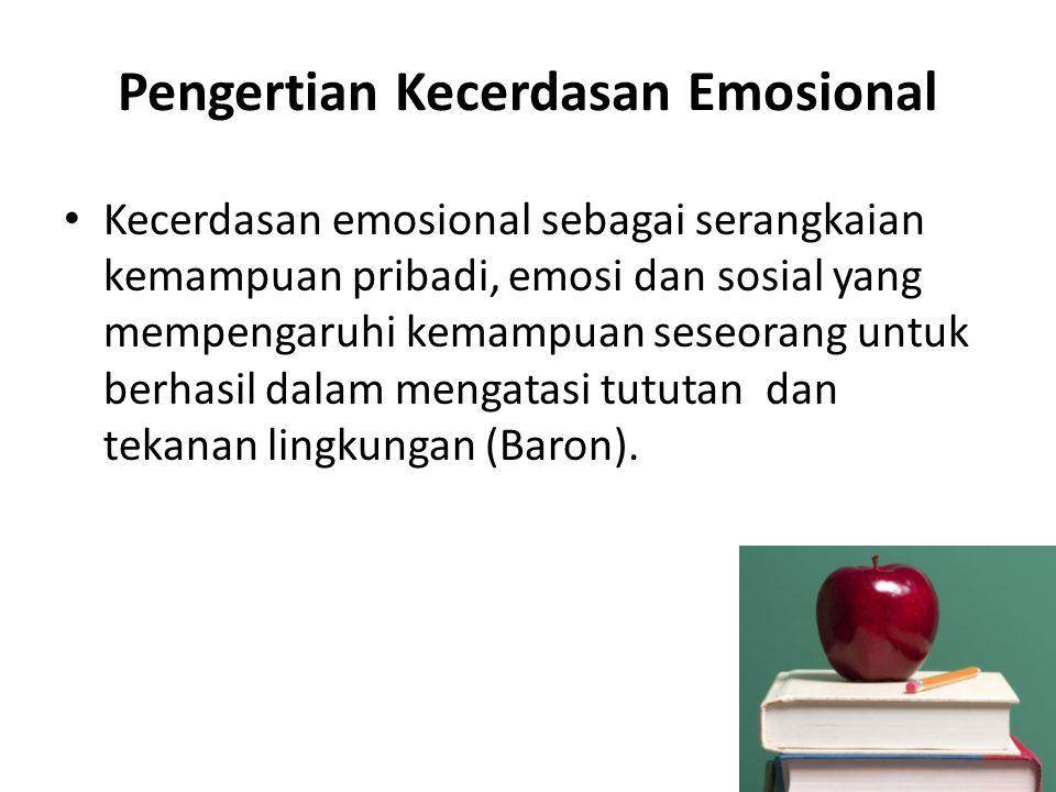 Pengertian Kecerdasan Emosional