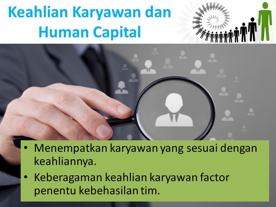Keahlian Karyawan dan Human Capital