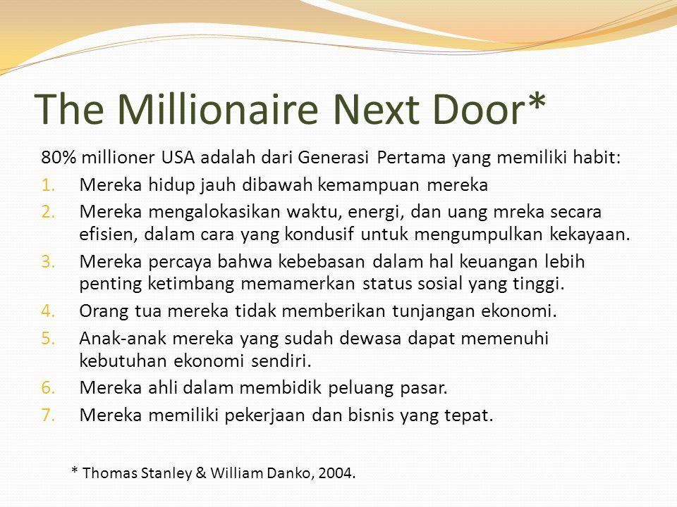 The Millionaire Next Door*
