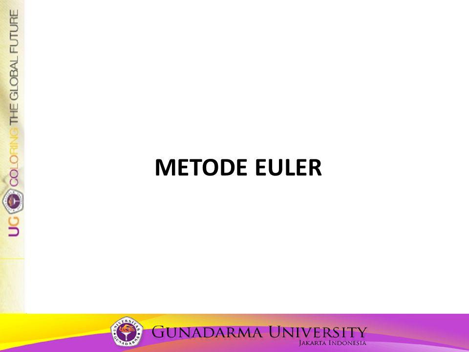 Metode euler