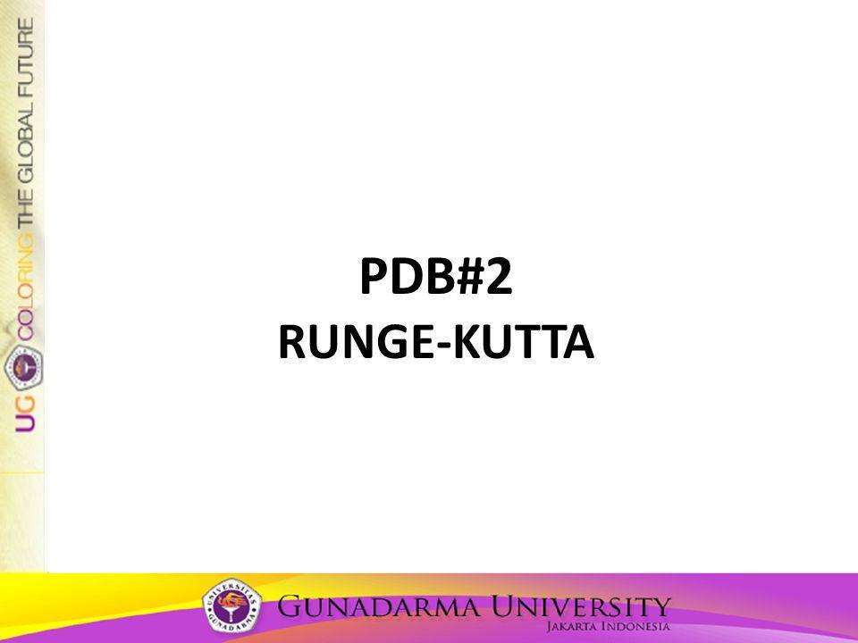 PDB#2 RUNGE-KUTTA