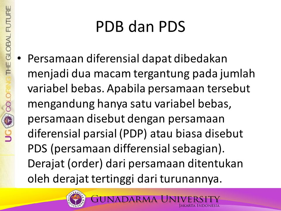 PDB dan PDS
