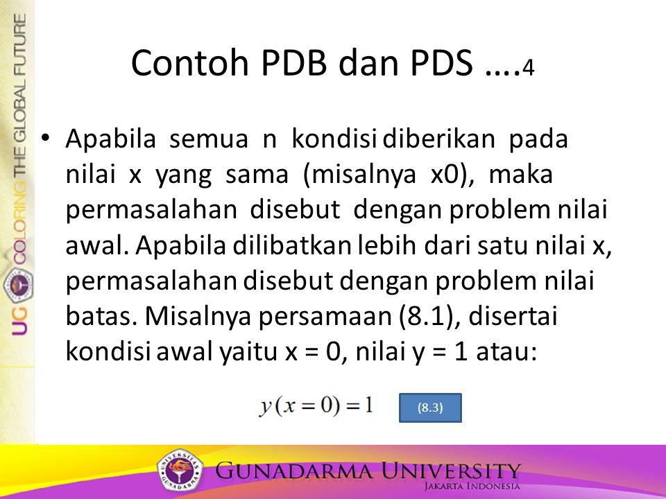Contoh PDB dan PDS ….4