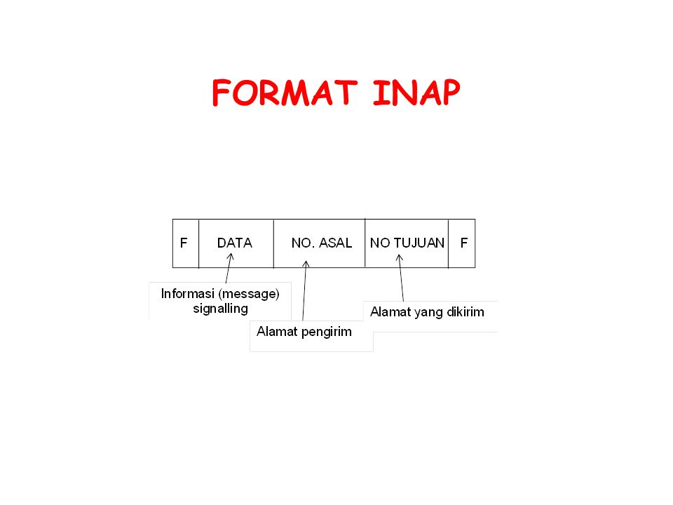 FORMAT INAP