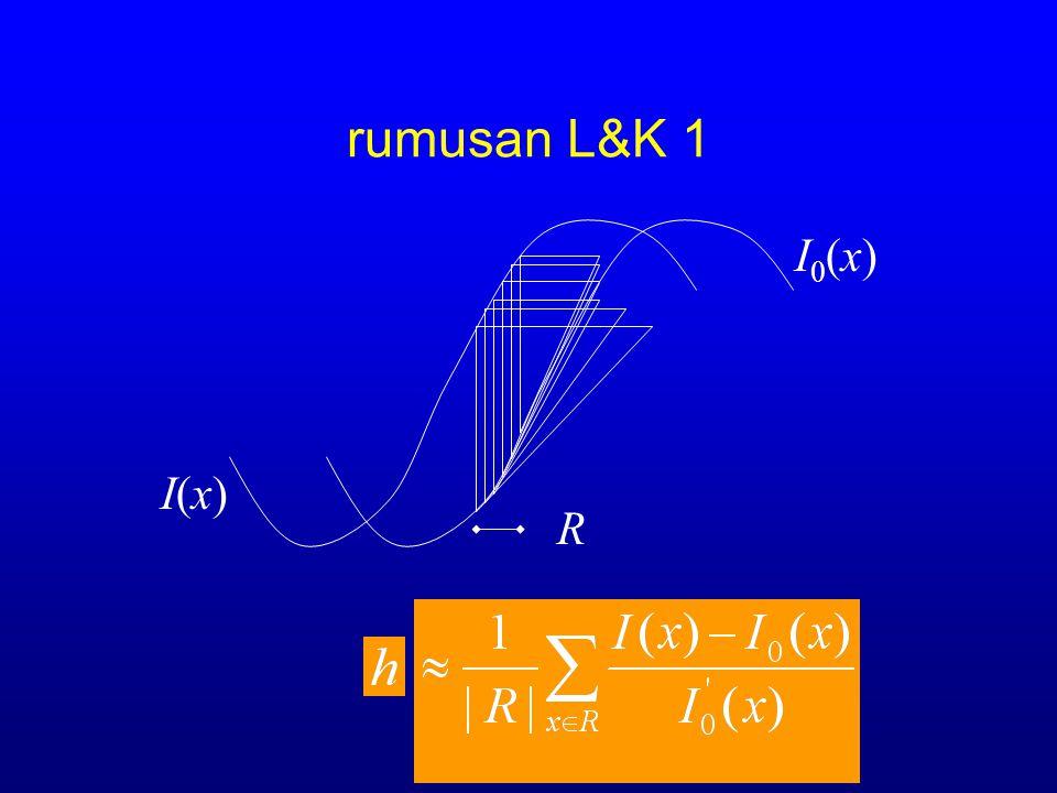 rumusan L&K 1 I0(x) I(x) R