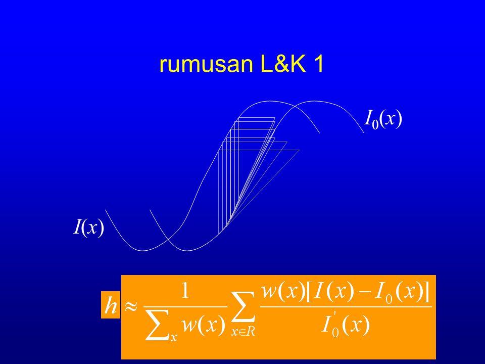 rumusan L&K 1 I0(x) I(x)