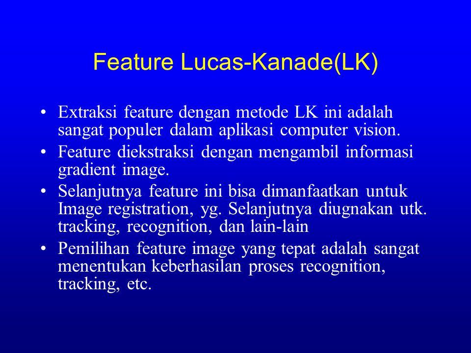 Feature Lucas-Kanade(LK)