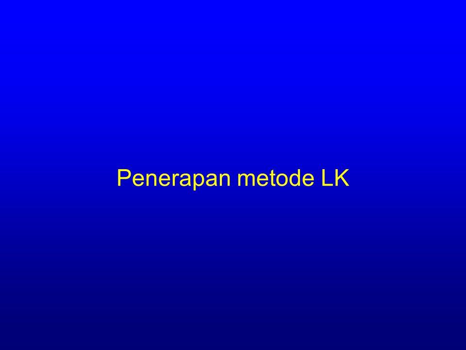 Penerapan metode LK