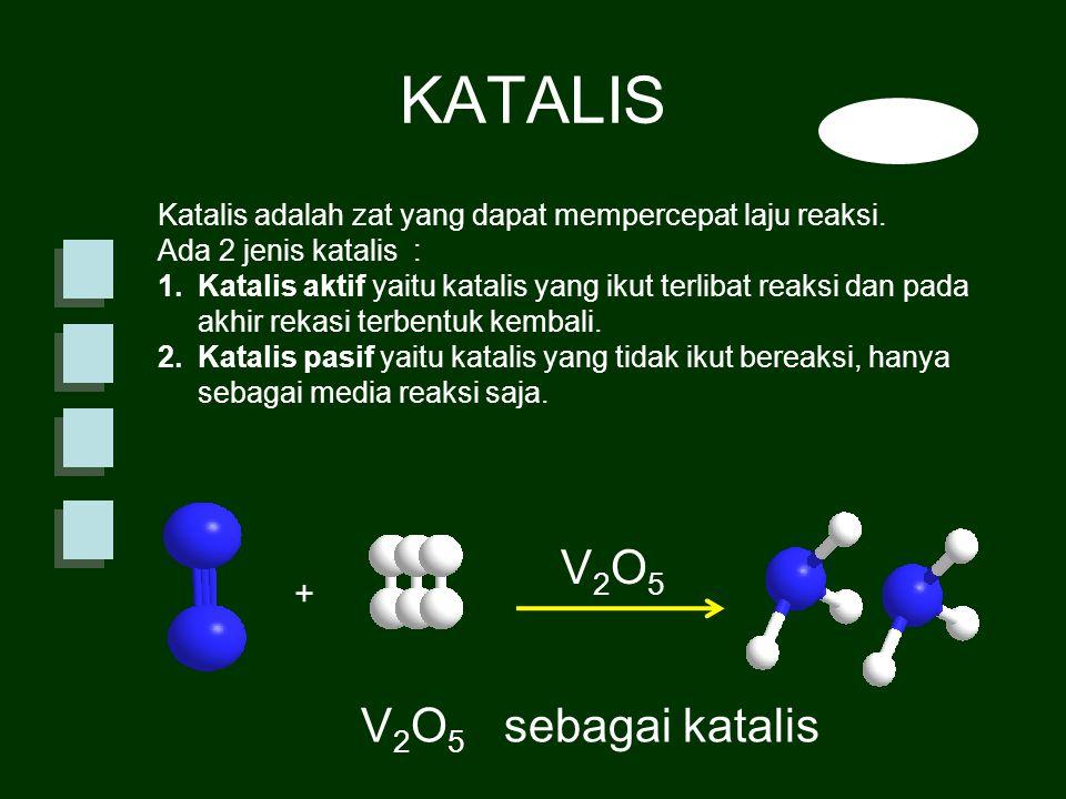 KATALIS V2O5 V2O5 sebagai katalis +
