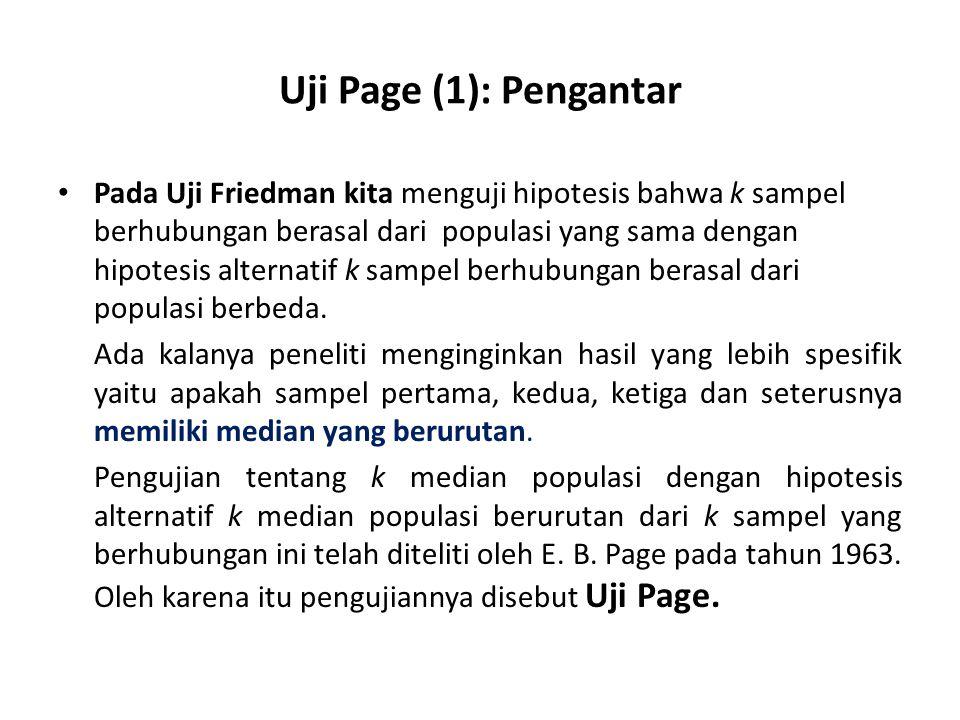 Uji Page (1): Pengantar