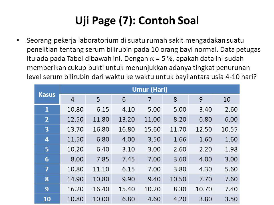 Uji Page (7): Contoh Soal