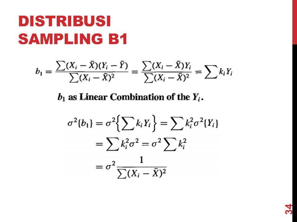 Distribusi sampling b1 @akbardarmawan/3SE1