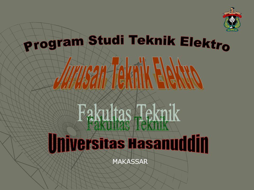 Program Studi Teknik Elektro Jurusan Teknik Elektro