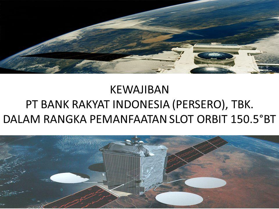 PT BANK RAKYAT INDONESIA (PERSERO), TBK.