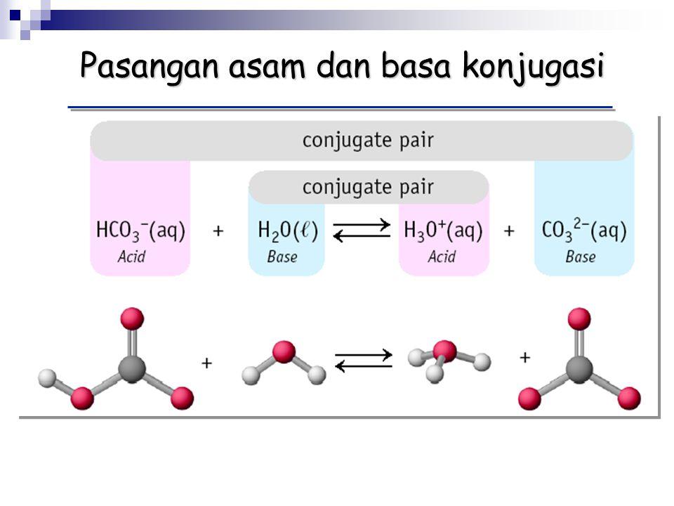 Pasangan asam dan basa konjugasi