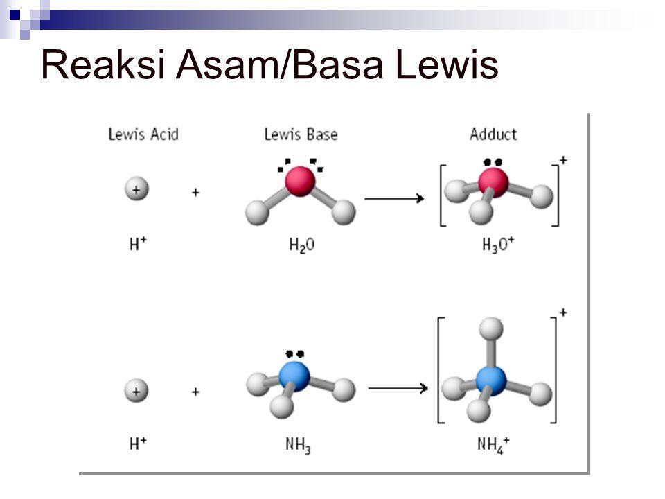 Reaksi Asam/Basa Lewis
