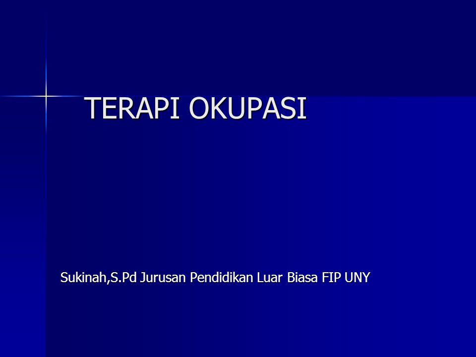 Sukinah,S.Pd Jurusan Pendidikan Luar Biasa FIP UNY
