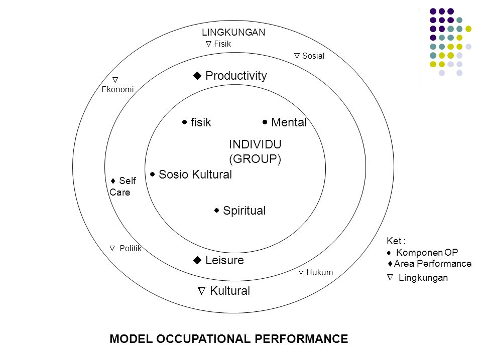 MODEL OCCUPATIONAL PERFORMANCE