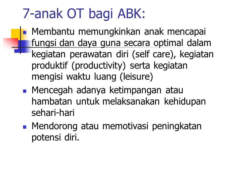 7-anak OT bagi ABK: