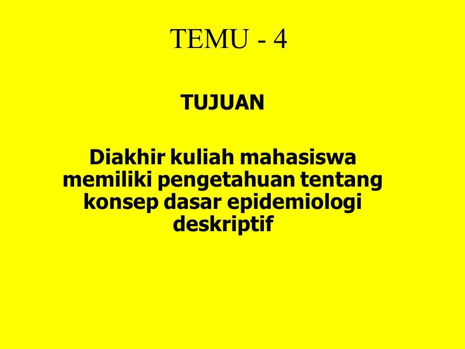 TEMU - 4 TUJUAN.