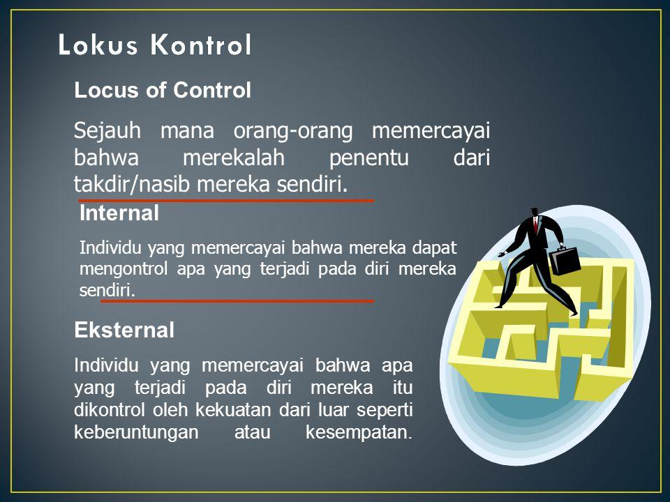Kepercayaan Diri dan Monitoring Diri