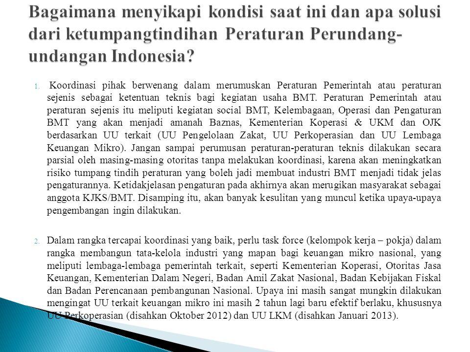 Bagaimana menyikapi kondisi saat ini dan apa solusi dari ketumpangtindihan Peraturan Perundang-undangan Indonesia