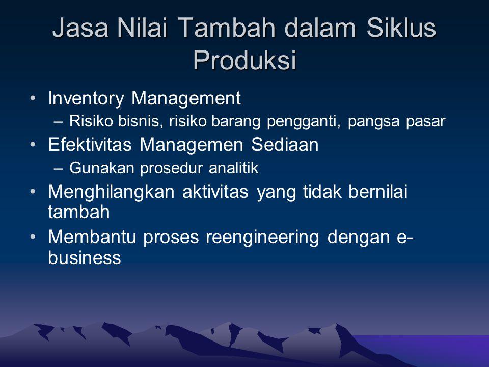 Jasa Nilai Tambah dalam Siklus Produksi
