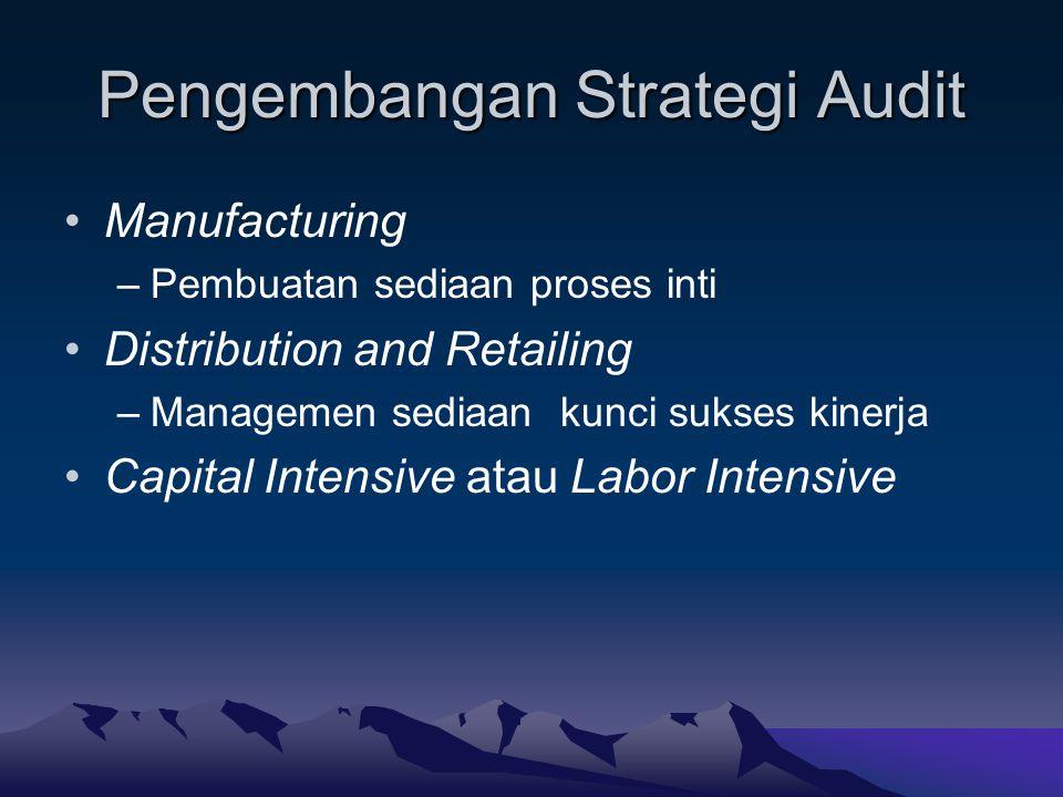Pengembangan Strategi Audit